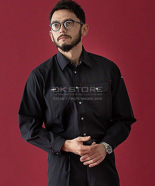 【カンサイユニフォーム】K7003(70034)「長袖シャツ」のカラー24