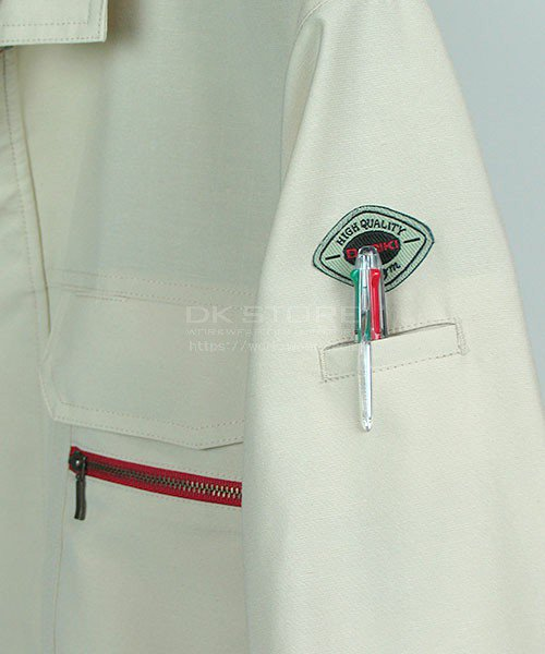 【DAIRIKI】22012麻王「長袖ブルゾン」のカラー8