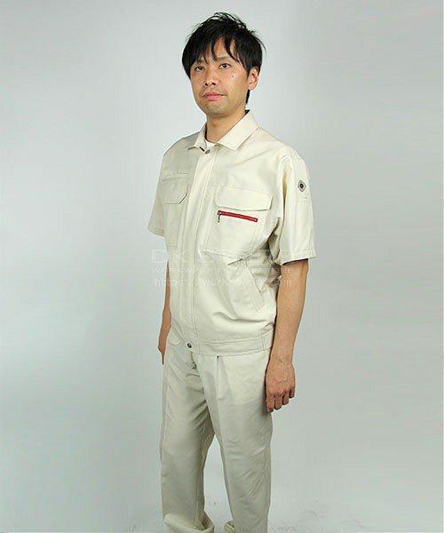 【DAIRIKI】22011麻王「半袖ブルゾン」のカラー18