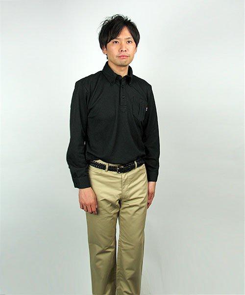 【カンサイユニフォーム】KS-574(00574)「長袖ポロシャツ」のカラー13
