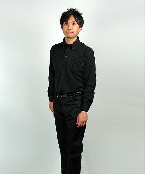 【カンサイユニフォーム】KS-574(00574)「長袖ポロシャツ」のカラー15