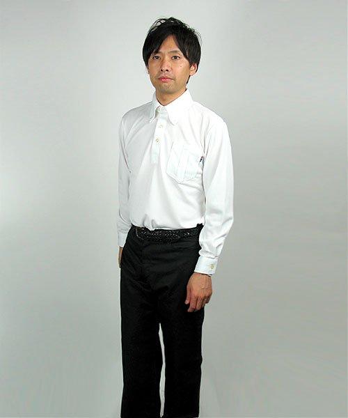 【カンサイユニフォーム】KS-574(00574)「長袖ポロシャツ」のカラー16