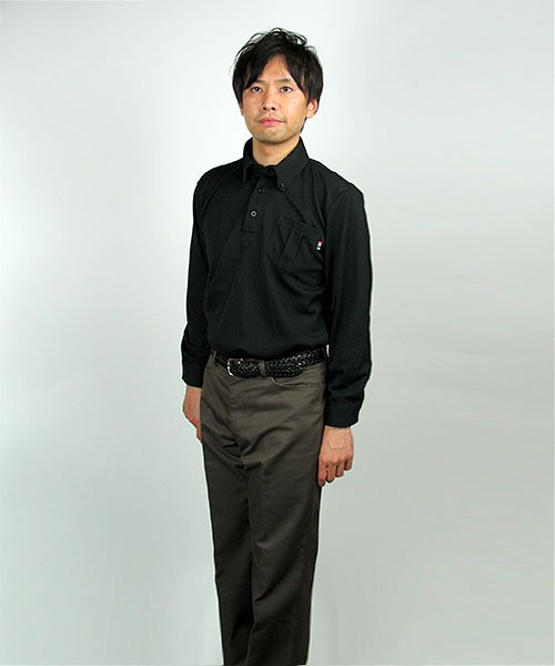 【カンサイユニフォーム】KS-574(00574)「長袖ポロシャツ」のカラー17