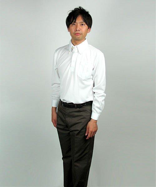 【カンサイユニフォーム】KS-574(00574)「長袖ポロシャツ」のカラー18