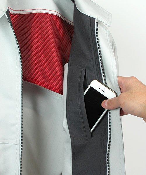 【カンサイユニフォーム】K6001(60012)「長袖ブルゾン」のカラー14