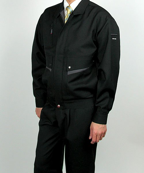 【カンサイユニフォーム】K6001(60012)「長袖ブルゾン」のカラー19