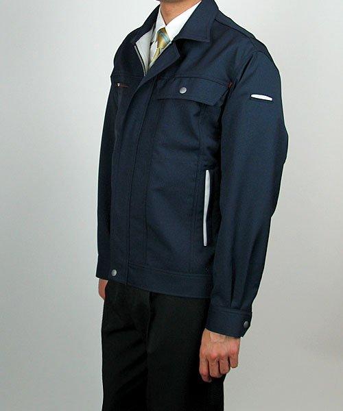 【カンサイユニフォーム】K8001(80012)「長袖ブルゾン」のカラー22