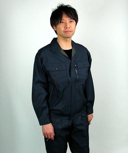【カンサイユニフォーム】K80802「長袖ブルゾン」のカラー19