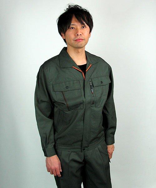 【カンサイユニフォーム】K80802「長袖ブルゾン」のカラー21