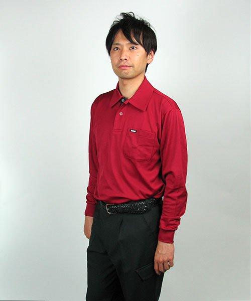 【カンサイユニフォーム】K5031(50314)「長袖ポロシャツ」のカラー13