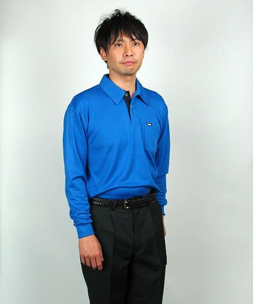 【カンサイユニフォーム】K5031(50314)「長袖ポロシャツ」のカラー16