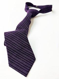 久留米絣タイ 紫