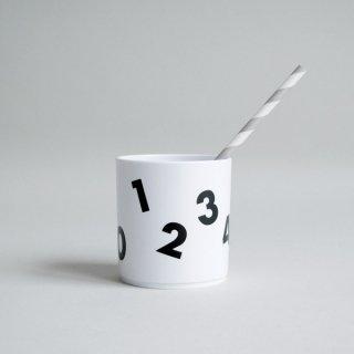 BUDDYANDBEAR / タンブラー / Number  Tumbler ホワイト