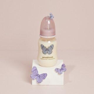 garbo&friends 哺乳瓶 butterfly 0-3ヶ月用 150 ml レギュラーサイズ
