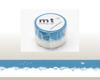 mt | mt×mina perhonen trip ミナペルホネン マスキングテープ トリップ コーラル ブルー