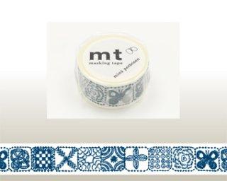 mt×mina perhonen(ミナペルホネン)forest tile・blue
