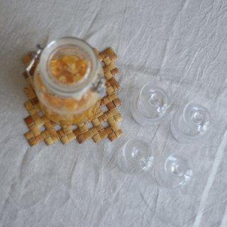 ラトビアの手仕事 白樺のポットマット 白樺細工