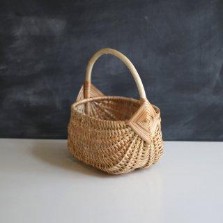 ※予約2月末 ラトビアの手仕事 伝統模様の手編みのバスケット