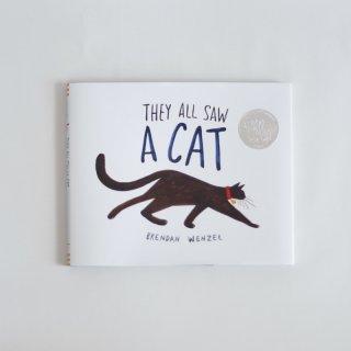 絵本「THEY ALL SAW A CAT」クロニクルブックス(洋書)