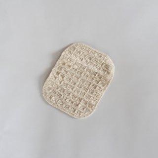 ガラ紡のウォッシュパッド  食器洗いやふきんに。