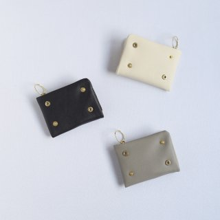CINQ スナップユニット財布/ジッパーケース