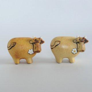 Lisa Larson(リサラーソン) 牛 スウェーデンのお花のうし