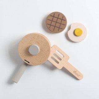 dou pop pan 木製おままごと&楽器のおもちゃ