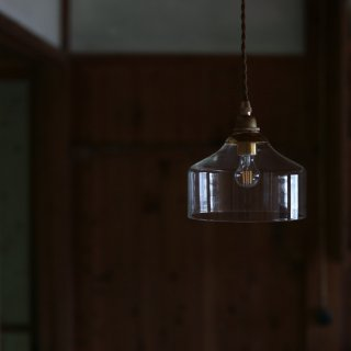 吹きガラス ペンダントライト 直径16cm