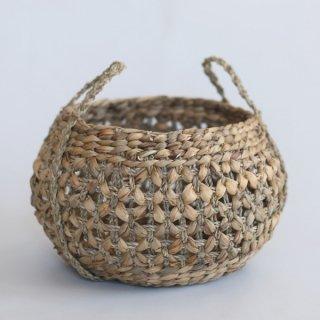 Suno&Morrison Flower Circle Basket かご バスケット