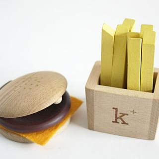 kiko+ hamburgerset