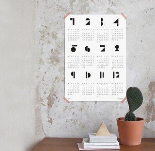 カレンダー SNUG.toyblocks 2018/snug.studio/