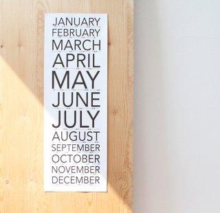 カレンダー SNUG.VERTICAL 2018/snug.studio/
