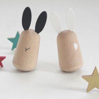 kiko+ usagi 起き上がりこぼしのおもちゃ