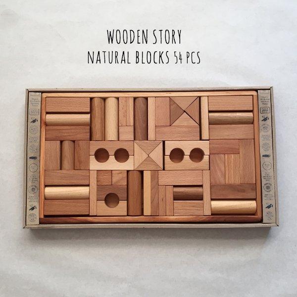 Wooden Story �ʥ�����֥�å���54�ĥ��å�