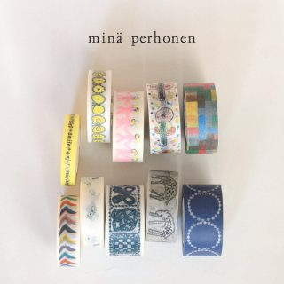 ミナペルホネン マスキングテープ 10個セット