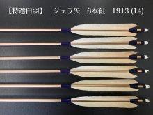 【特選白羽】ジュラ矢 6本組 1913 (14)