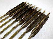 【ワケあり特価矢】カーボン矢 8本組 イーストンウッドカーボン 76-20 黒手羽 (4)