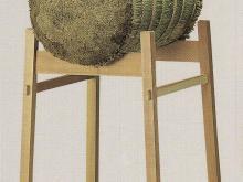 巻藁台 木製