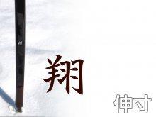 翔(しょう)(伸寸・四寸伸)