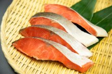 紅鮭切り身(中辛)【4切】