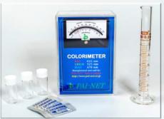 水の塩素濃度測定セット