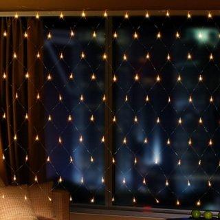 即納品 窓辺のデコレーションに♩フィッシュネット ガーランドライト イルミネーションライト 間接照明