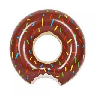 即納品 チョコレート ドーナツ 浮き輪 ブラウン 海 プール 海外セレブ ビーチ ハワイ 通販