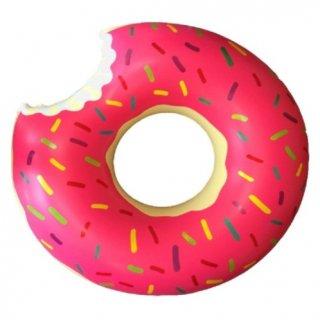 即納品 ピンク ストロベリー チョコレート ドーナツ 浮き輪 海 プール 海外セレブ ビーチ ハワイ 通販