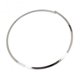 即納品  シルバー メタル チョーカー ネックレス アクセサリー インポート 通販