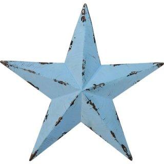 即納品 3サイズ ブルー スター 星 ビンテージ風 アンティーク ブリキ オブジェ 海外インテリア インポート 通販