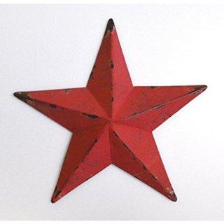 即納品 レッド スター 星 ビンテージ風 アンティーク ブリキ オブジェ 海外インテリア インポート 通販