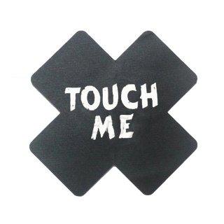 【大特価】2デザイン ブラック クロス KISS ME TOUCH ME ニプレス フェス ランジェリー インポート 通販