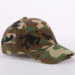 【大特価】2色展開 ブラウン グレー 迷彩柄 カモフラージュ柄 ベースボールキャップ サイズ調整可能 帽子 通販