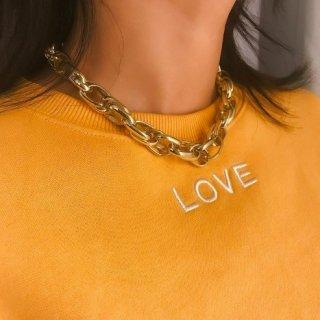 【大特価】2色展開 ゴールド シルバー チェーンネックレス チョーカーネックレス ショートネックレス インポート 通販